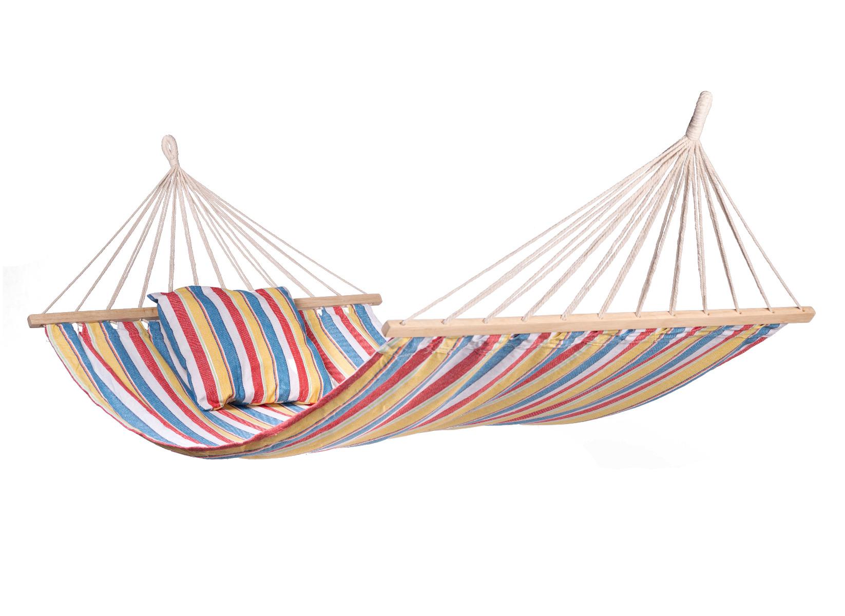 'Cabrera' Spreaderbar E�npersoons Hangmat - Veelkleurig - 123 Hammock