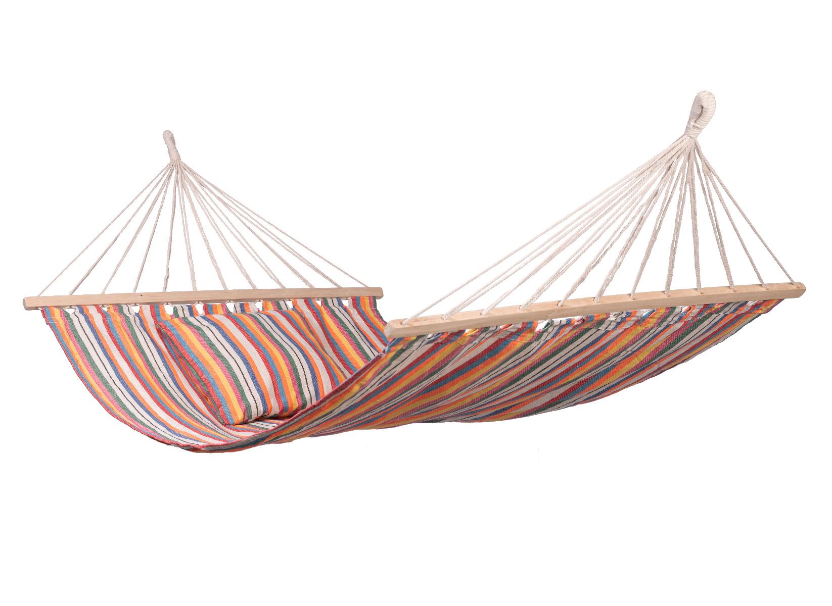 'Isla' Spreaderbar E�npersoons Hangmat - Veelkleurig - 123 Hammock