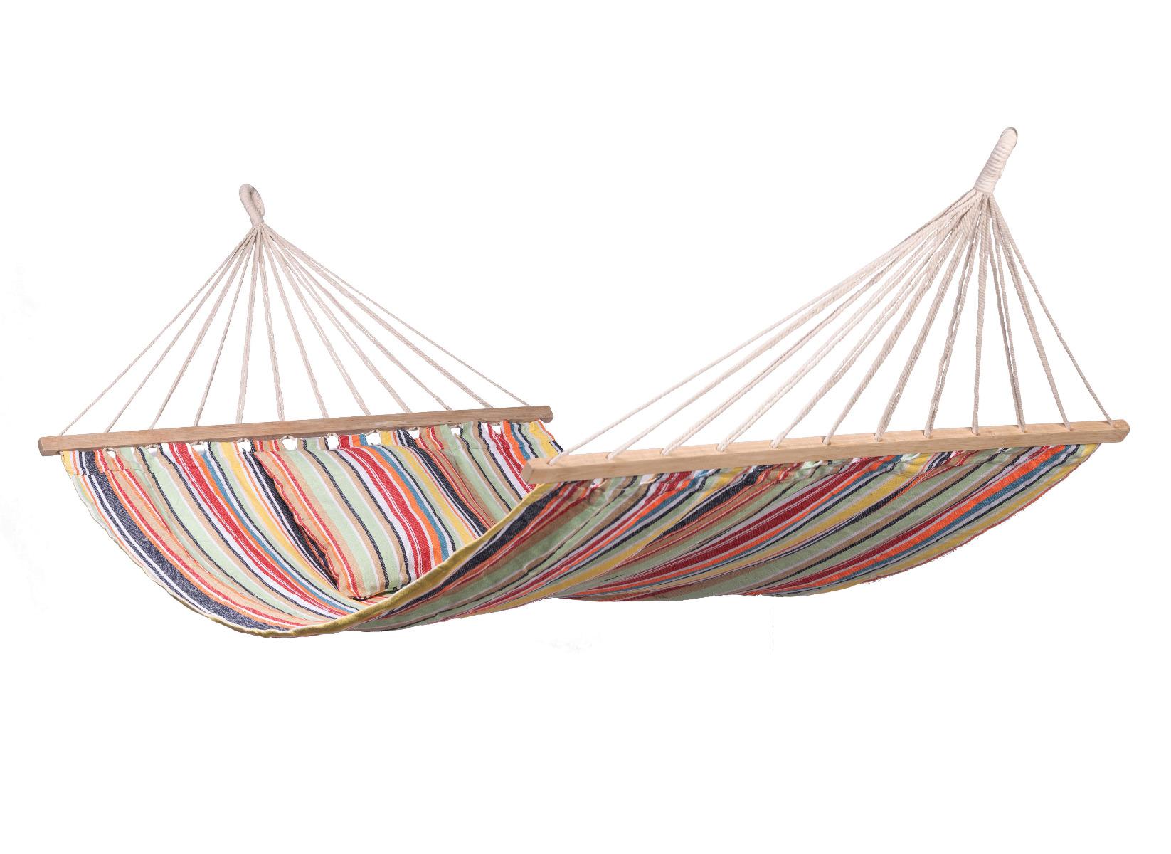 'Minorca' Spreaderbar E�npersoons Hangmat - Veelkleurig - 123 Hammock