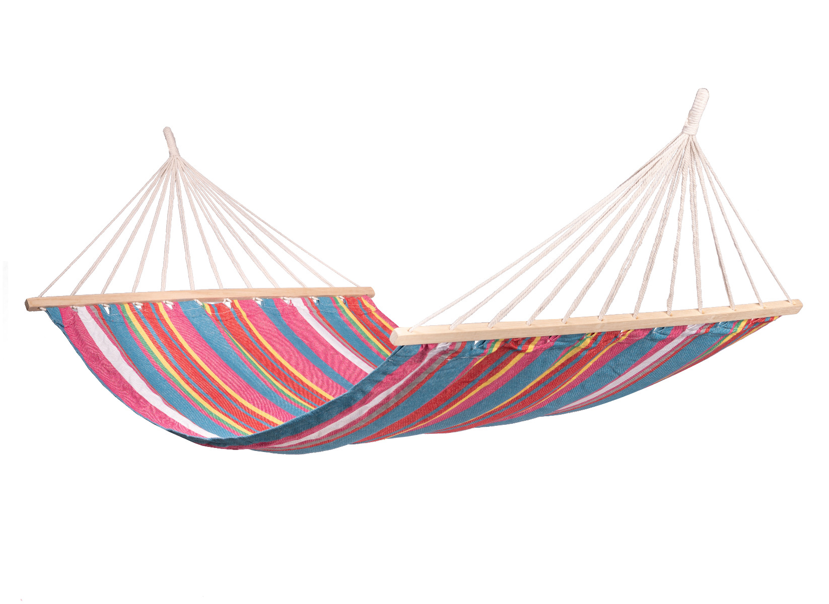 'Salvora' Spreaderbar E�npersoons Hangmat - Veelkleurig - 123 Hammock