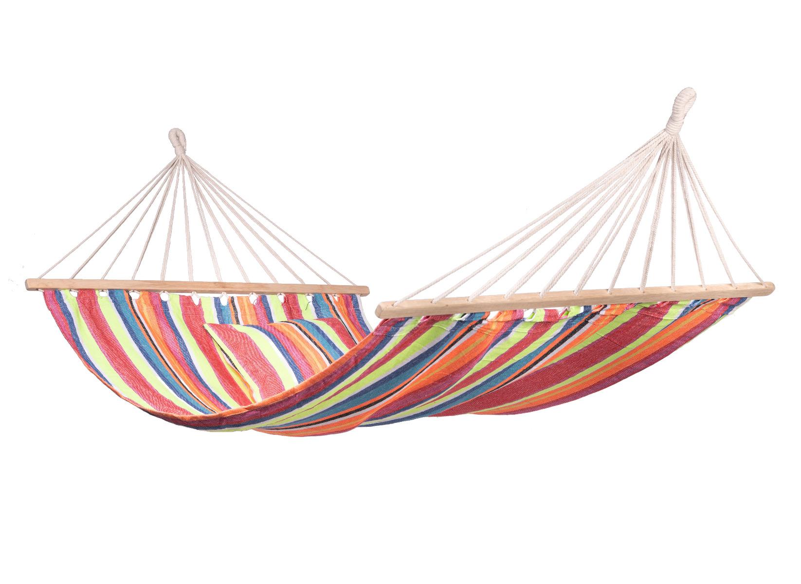 'Tura' Spreaderbar E�npersoons Hangmat - Veelkleurig - 123 Hammock