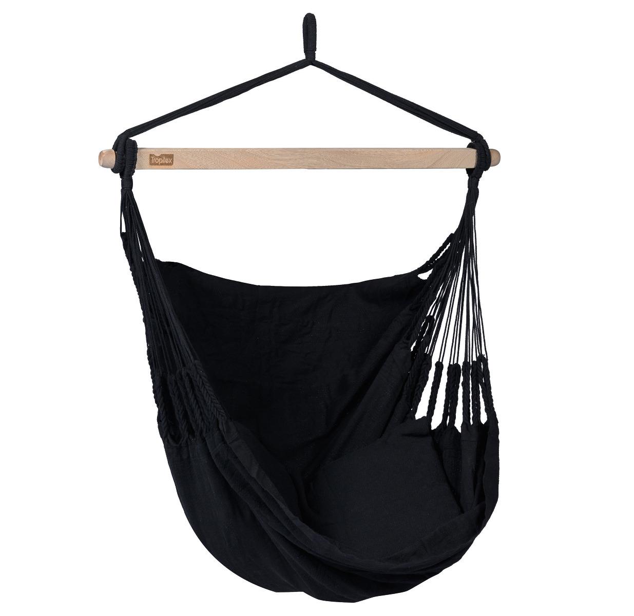 'Comfort' Black Hangstoel - Zwart - Tropilex �