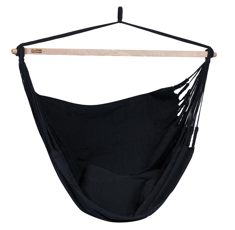 'Luxe' Black Hangstoel - Zwart - Tropilex �