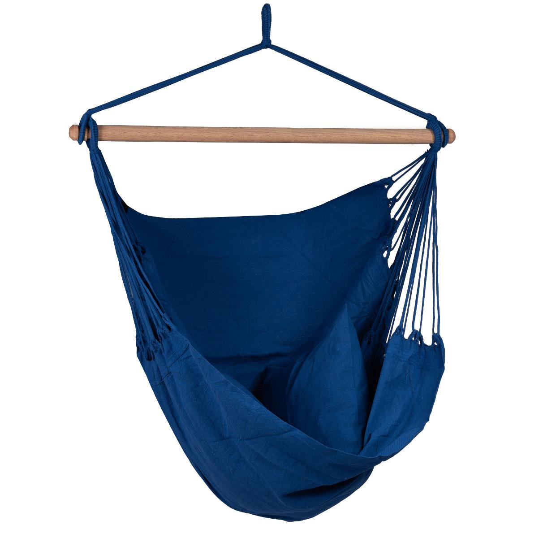 'Organic' Blue Hangstoel - Blauw - Tropilex �