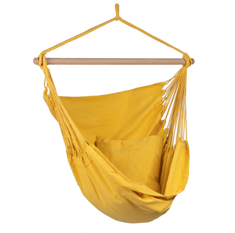 'Organic' Yellow Hangstoel - Geel - Tropilex �