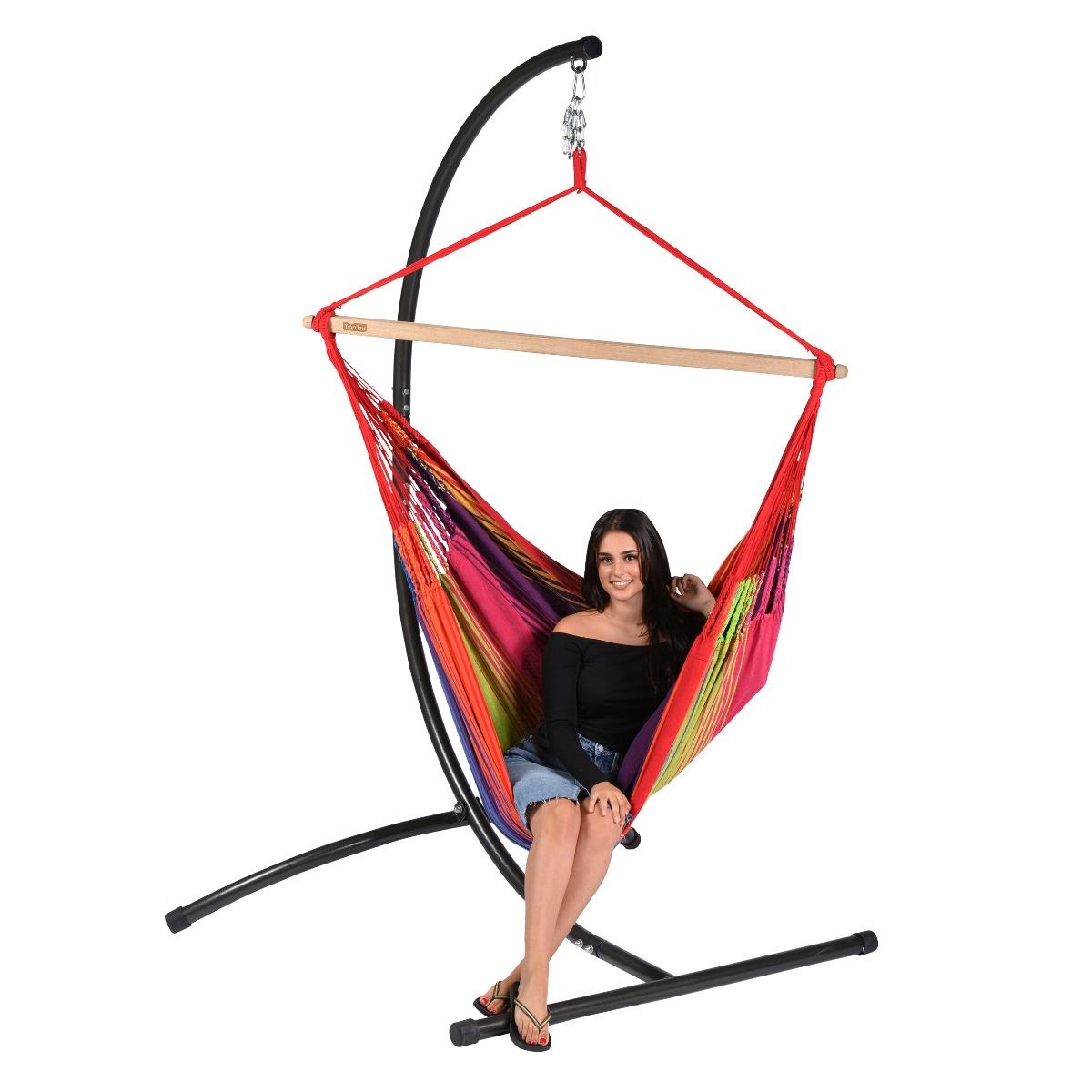 'Refresh' Rainbow Hangstoel - Rood - Tropilex �