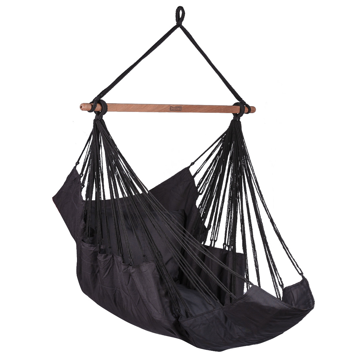 'Sereno' Black Hangstoel - Zwart - Tropilex �