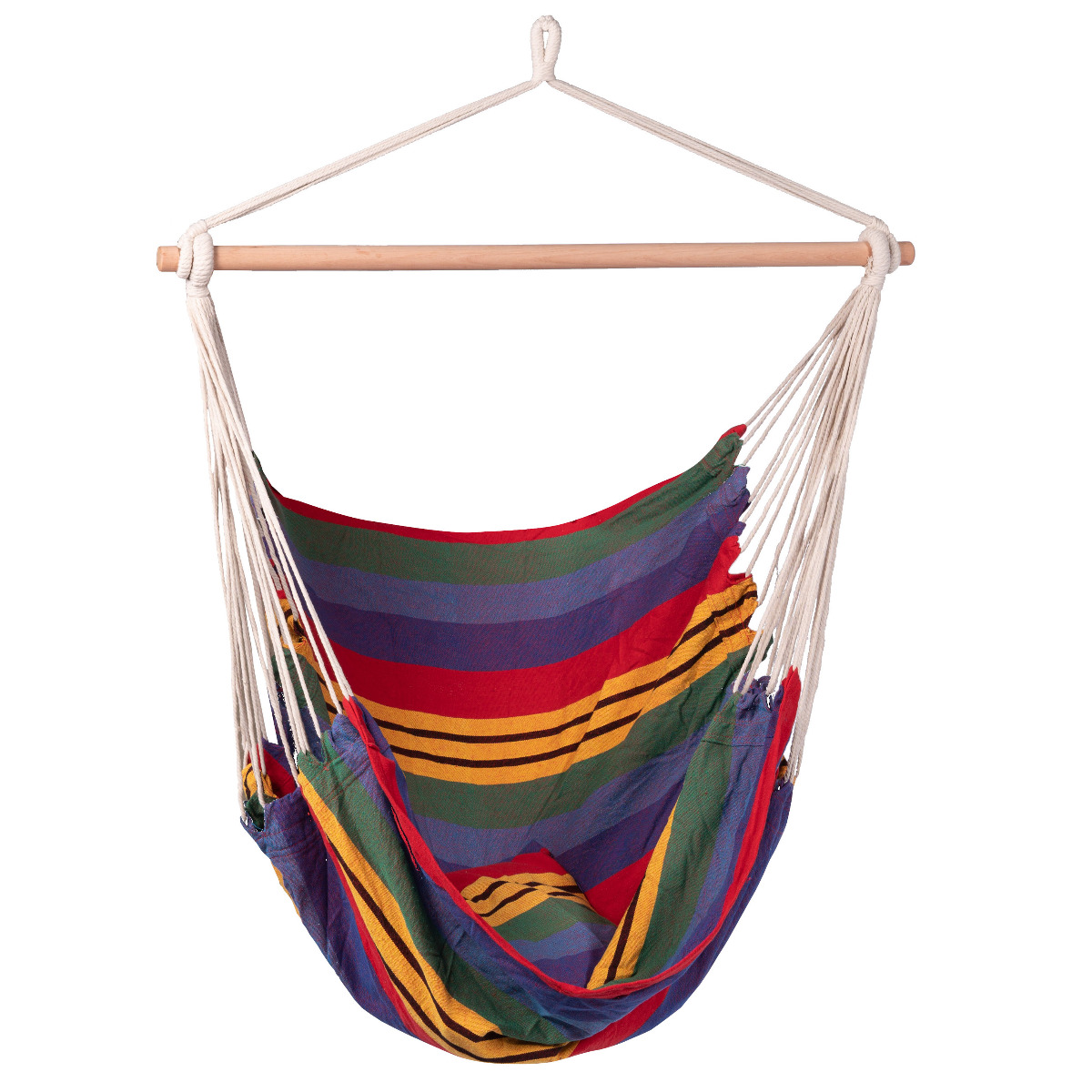 'Ibiza' Single Hangstoel - Veelkleurig - 123 Hammock