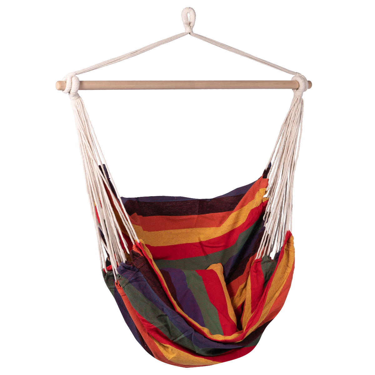 'Multi' Single Hangstoel - Veelkleurig - 123 Hammock