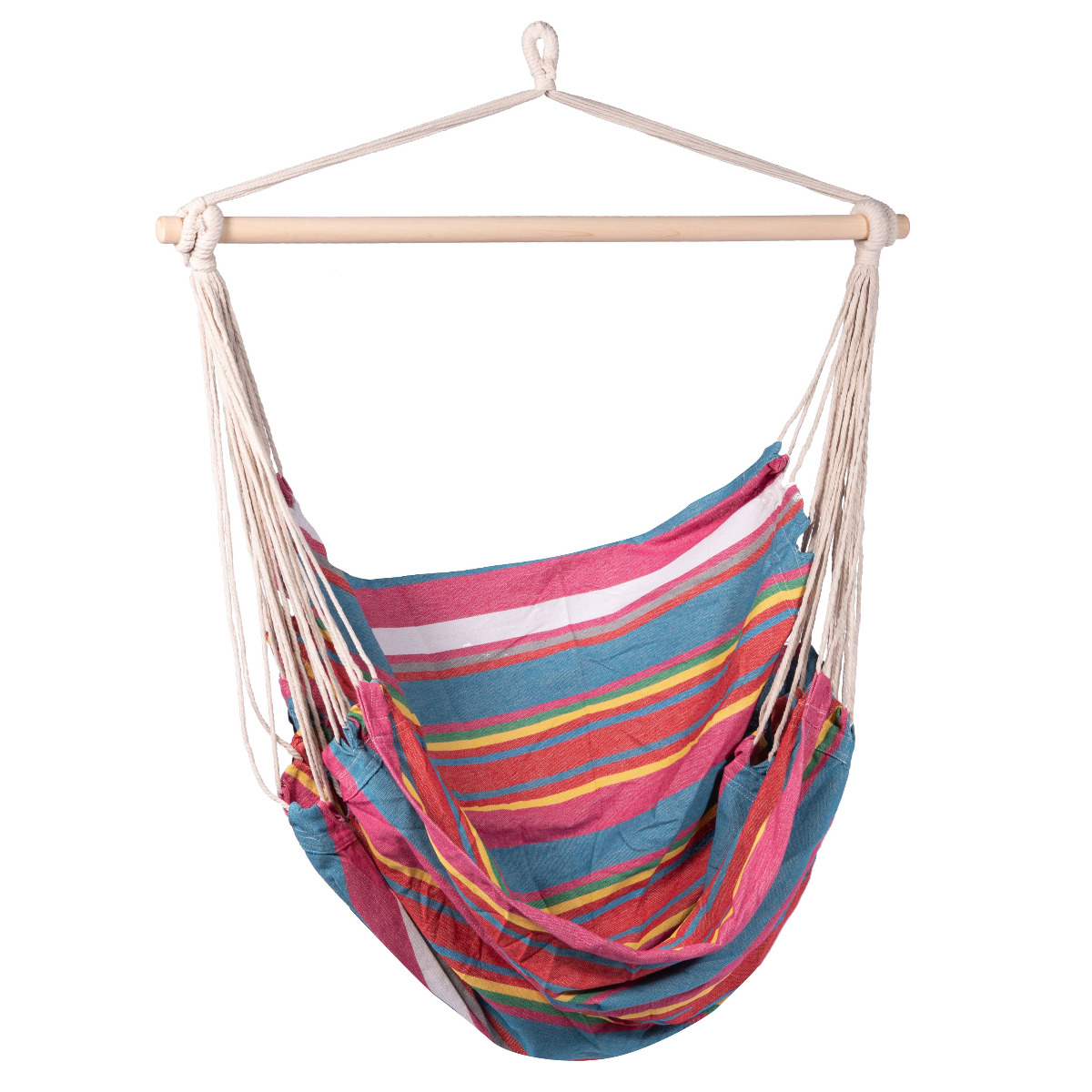 'Salvora' Single Hangstoel - Veelkleurig - 123 Hammock