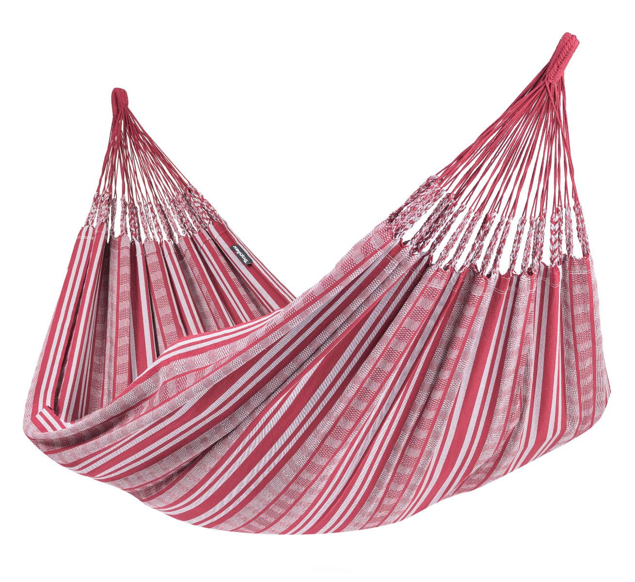 'Comfort' Bordeaux Tweepersoons Hangmat - Rood - Tropilex �
