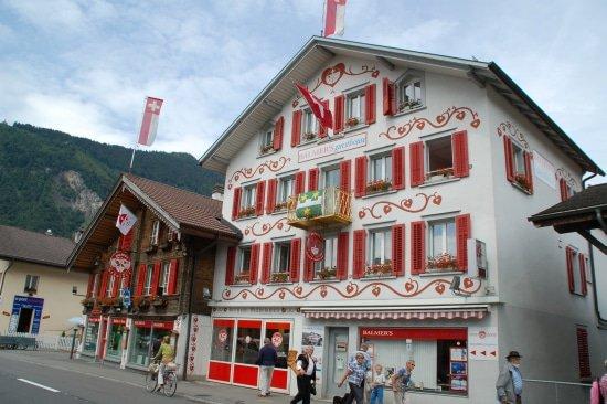 Balmers Hostel in Interlaken, Zwisterland