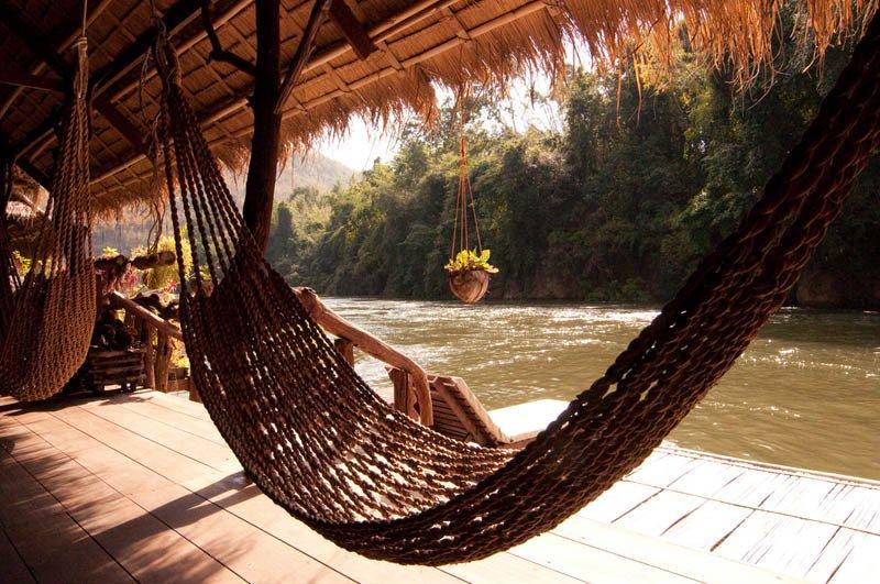 Beste hangmat locaties - River Kwai