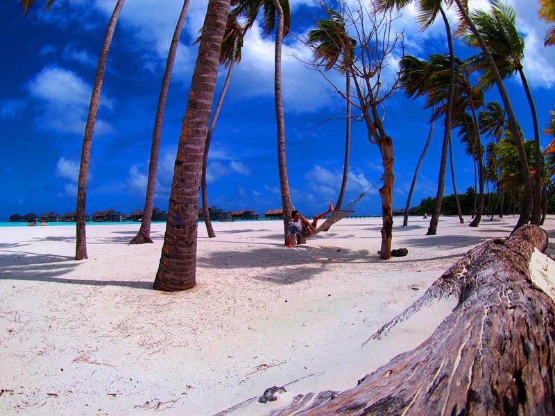 Beste hangmat locaties - maladiven