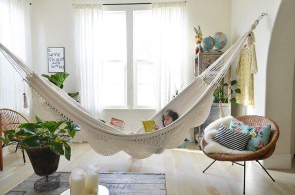 Een hangmat in je woonkamer? Volg de trend!
