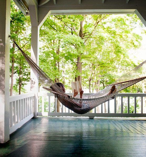 hangmat veranda