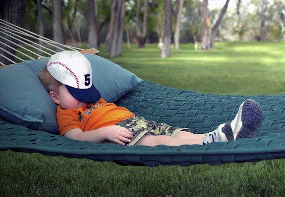 meer dromen in een hangmat